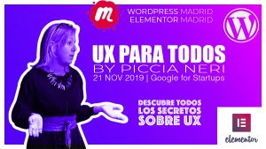 Meetup Elementor Piccia Neri - UX para todos