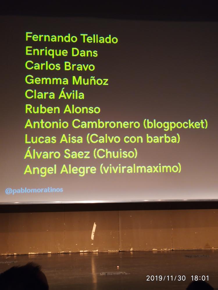WCGranada 2019 Pablo Moratinos blogs que lo petan 03