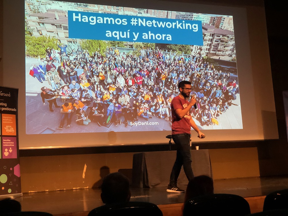 WCGranada 2019 Dani Serrano NetWorking 01