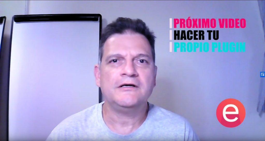 Próximo vídeo: Cómo hacer tu propio plugin