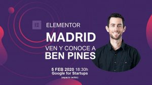 Meetup Elementor Madrid Ben Pines