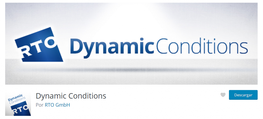 Plugin Dynamic Conditions