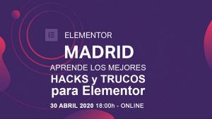 Meetup Elementor Madrid - Trucos Elementor